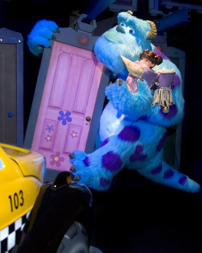Monster's Inc. Sulley Hidden Mickey DCA (Paul Hiffmeyer, Disneyland) photo(c)Disney