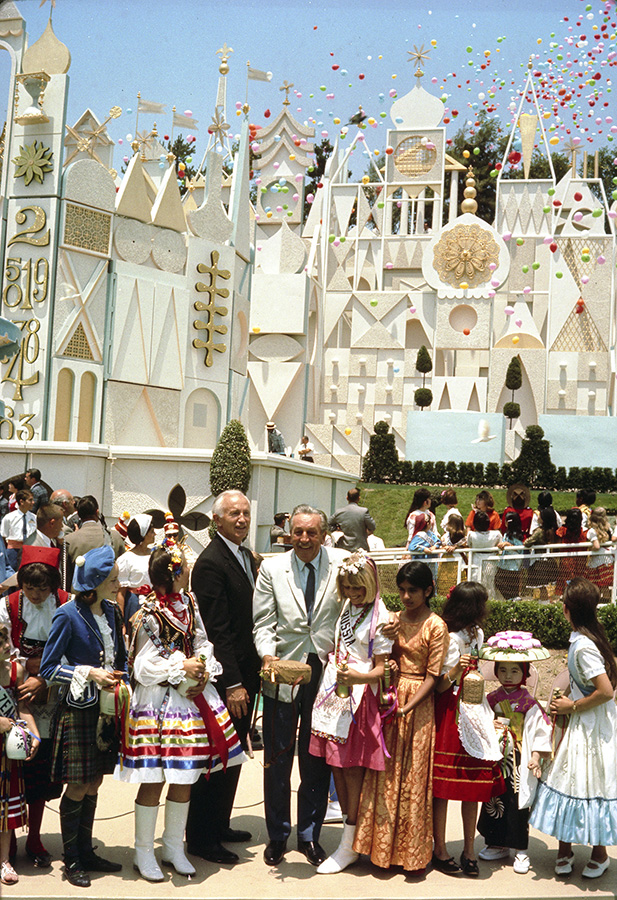 WALT'S SMALL WORLD